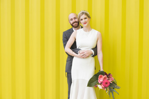 andrea + rich // industrial london wedding